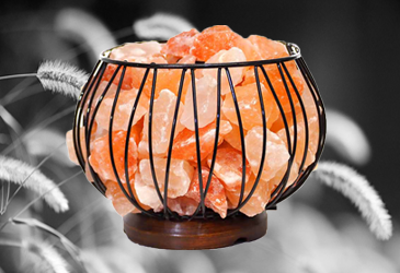 Crystal Gemstone and Himalayan Salt Lamps