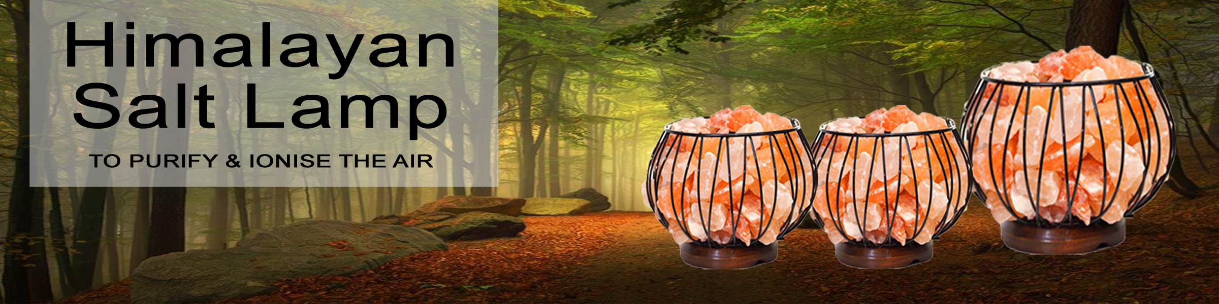 Himalayan Salt Lamp to Purify and Ionise the Air