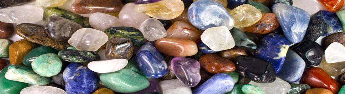 Crystals and Gem Stones Banner LJOILS